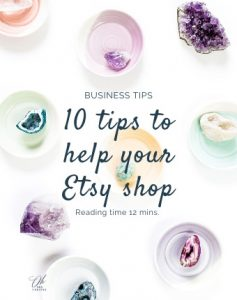 10 quick tips to improve your Etsy shop
