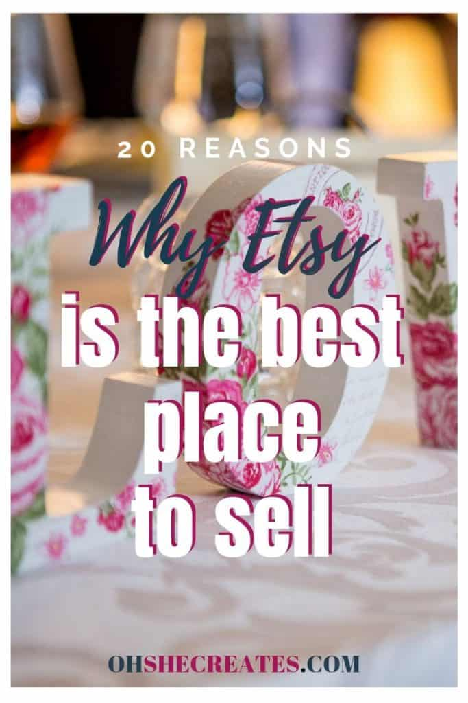 The best place to start selling on Etsy