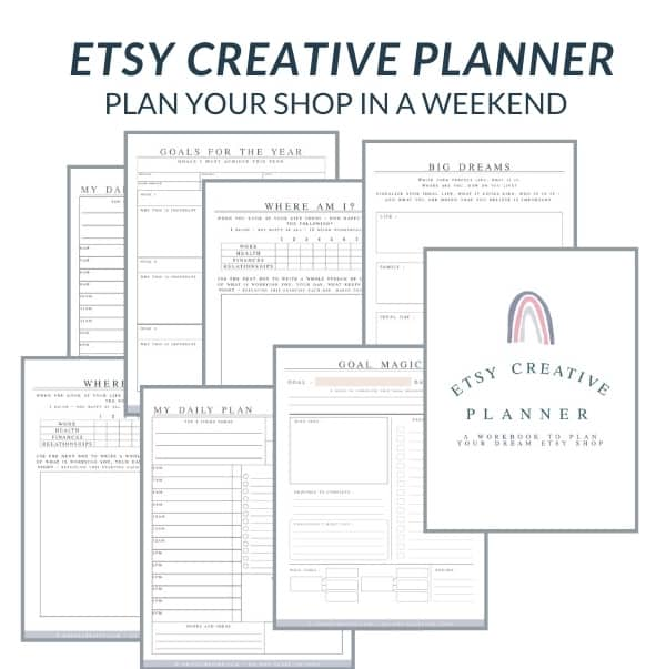 etsy planner images
