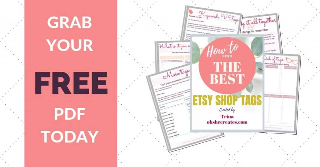 how to find etsy shop tags