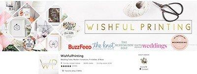 image of wishful printing header
