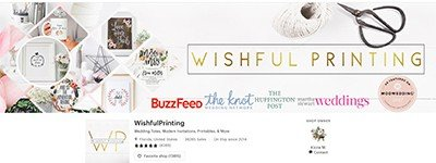 image of wishful printing header
