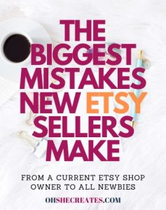 The biggest mistakes Etsy shop owners make