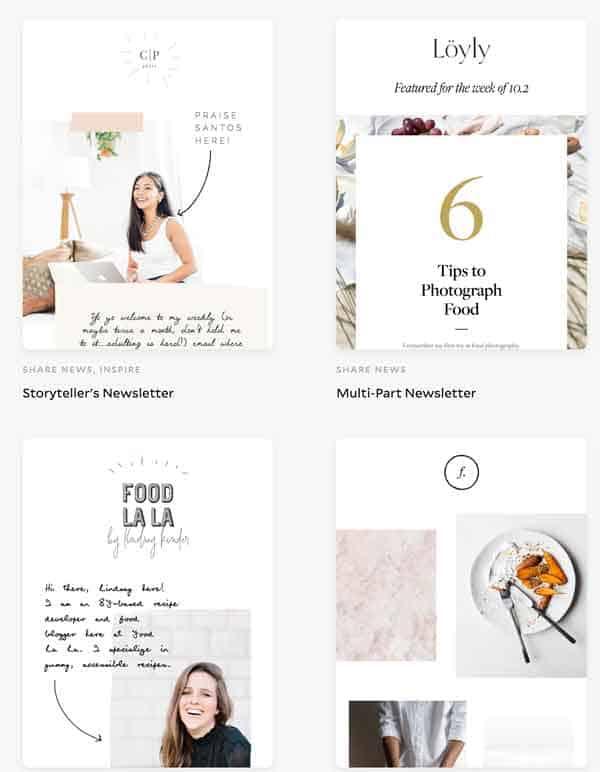 flodesk newsletter templates