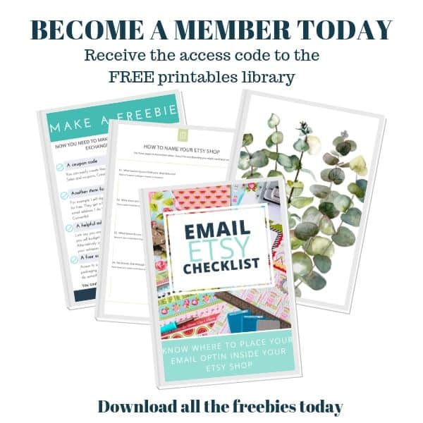 access the free printables library and join today