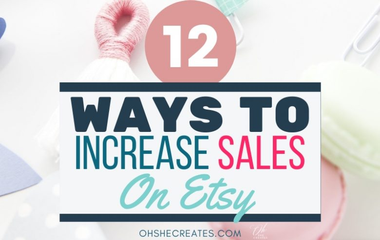 how to increase your etsy sales text image