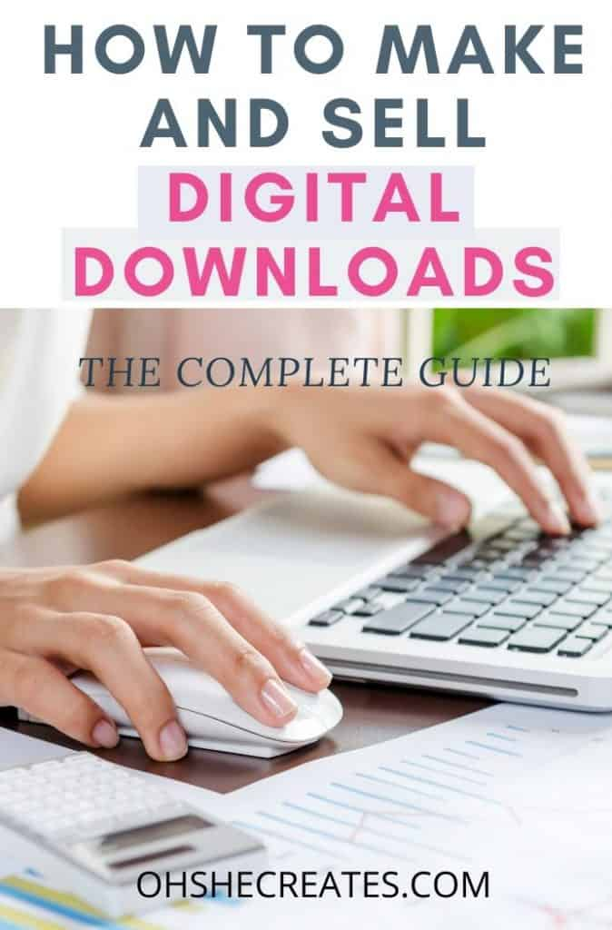 HOW TO SELL DIGITAL DOWNLOADS ON ETSY