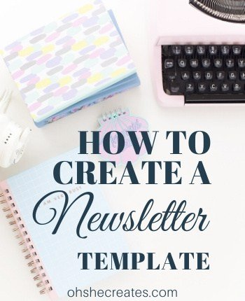 How to create a newsletter template