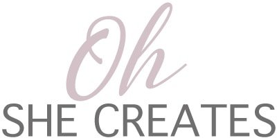 oh she creates logo