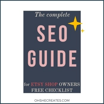 The BIG Etsy SEO guide – for every new shop owner