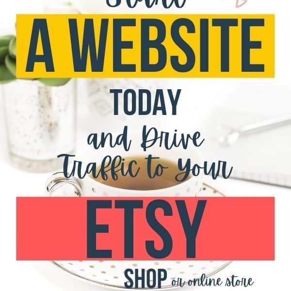 start a website for etsy shop