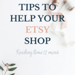 10 tips to improve your etsy shop