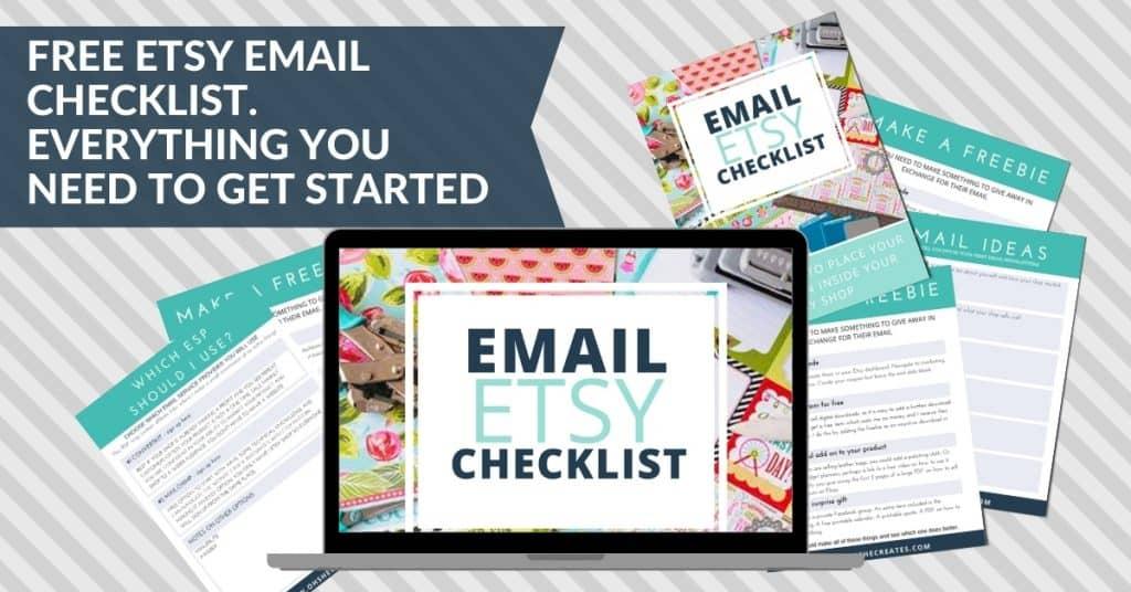 etsy email checklist