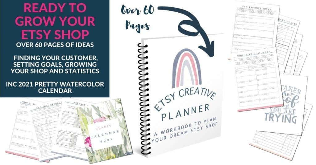 Etsy creative planner