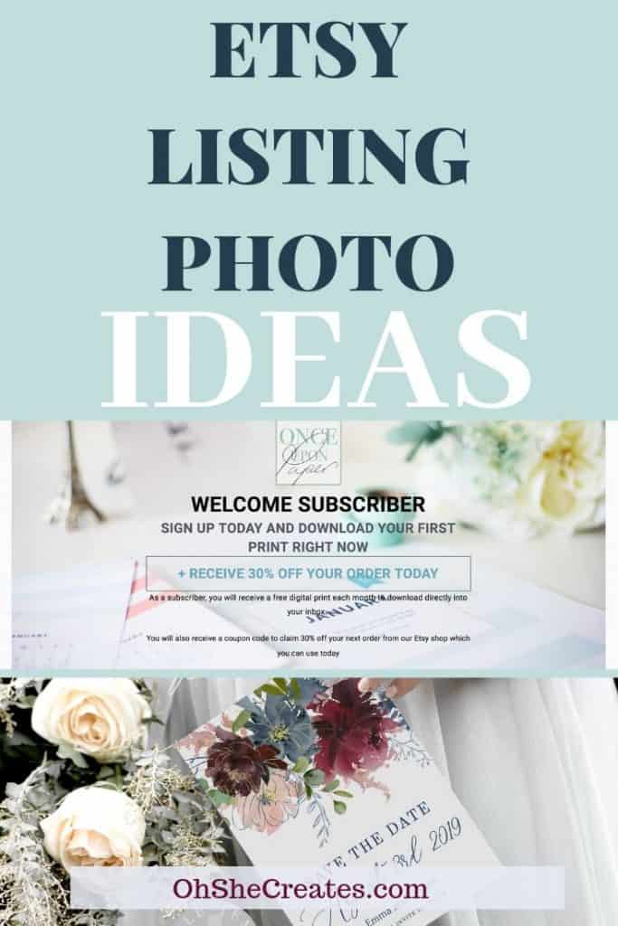 Etsy list photo ideas