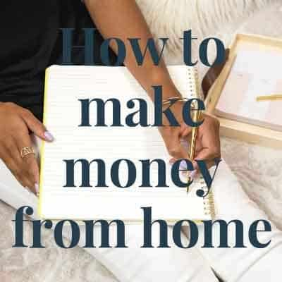 How to make money from home -