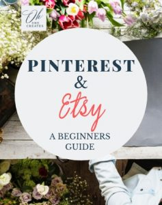 Pinterest and Etsy to promote your shop