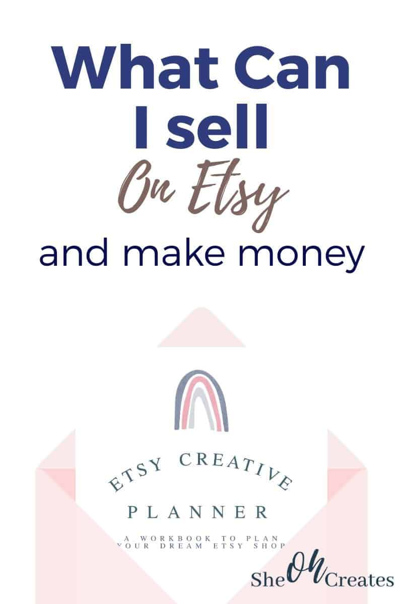 what can I sell on etsy image with envelope